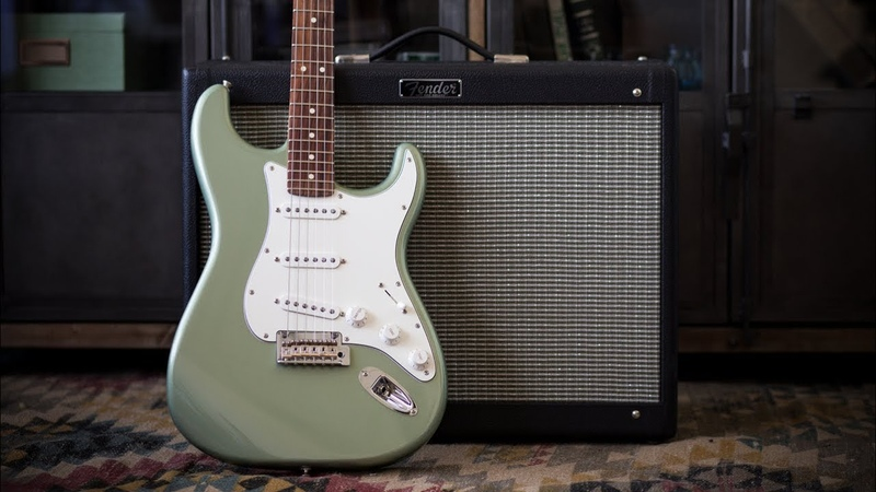 Fender Player Series Stratocaster Electric Guitar - Demo and Features