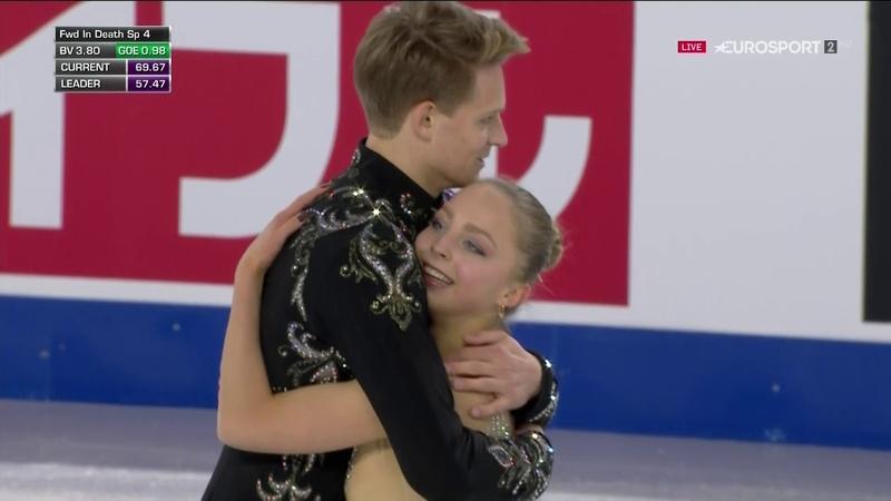 Aleksandra Boikova / Dmitrii Kozlovskii 2018 Skate Canada FP