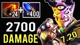 THANOS IS REAL 2700 Damage Finger 1 Shot Kill 7.20 Cancer Lion Mid by Waga New Item Dota 2
