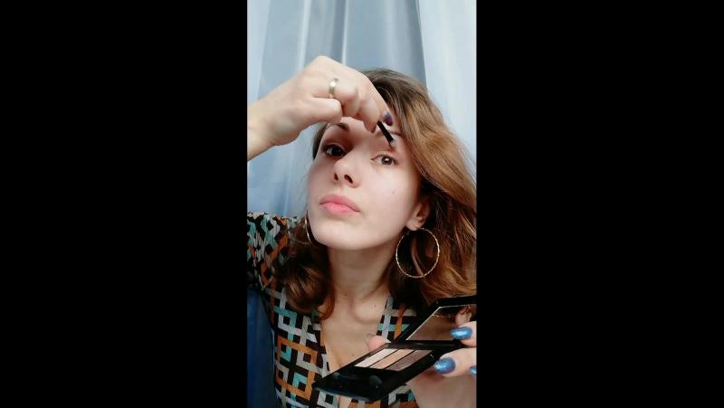тени Тенеро, дневной макияж .mp4