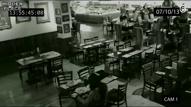 НЕ СМОТРЕТЬ Полтергейс в Московском ресторане, снято на скрытую камеру возможно пришельцы