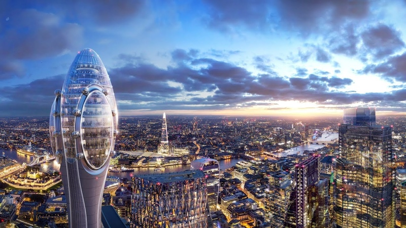 Foster Partners proposes 305-metre tall tourist viewing tower for London