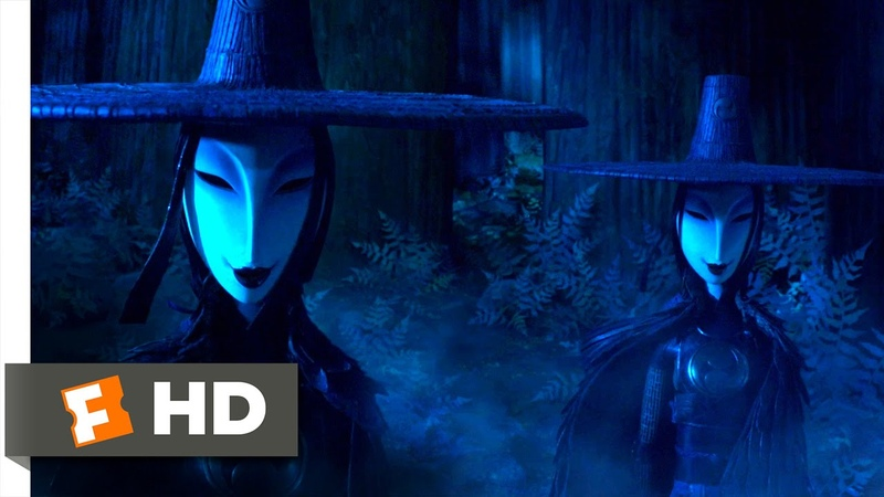 Kubo and the Two Strings (2016) - The Sinister Sisters Scene (2/10) | Movieclips