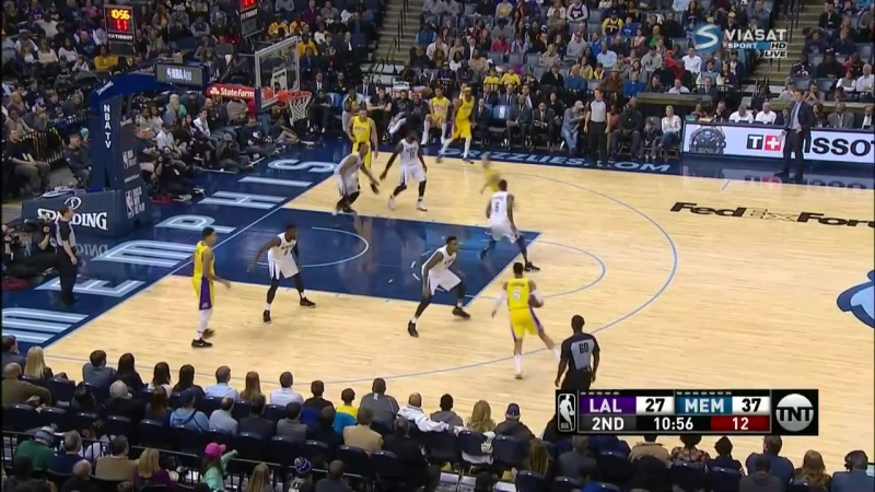 NBA 2017-2018 / RS / 15.01.2018 / Los Angeles Lakers vs Memphis Grizzlies Viasat / Виасат Sport HD RU