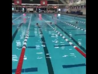 Michael Phelps Training