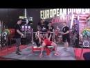 Сергеева Елена жим лежа 117,5 кг