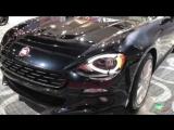 2018 Fiat spider 124 Exterior and Interior Walkaround LA Auto Show