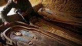 В Долине золотых мумий в Египте нашли 15 тонный саркофаг с мертвецами