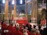 Pope Benedict XVI London mass cathedral 18 09 2010