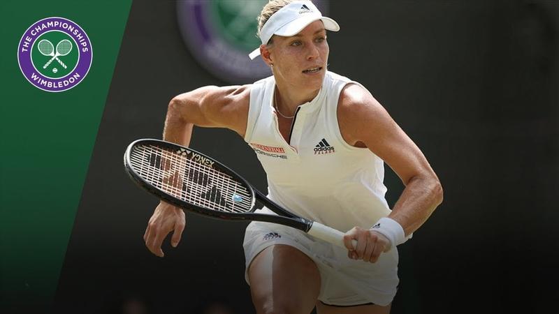 Belinda Bencic vs Angelique Kerber 4R Highlights | Wimbledon 2018