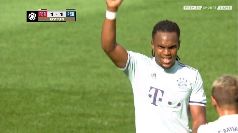 Renato Sanches Goal Bayern v PSG 2-1