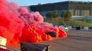 Dodge Viper vs. Charger Hellcat vs. Challenger Hellcat - Roadkill Nights - Tug of War Burnout
