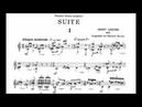 Ernst Krenek: Suite Op. 164 for Guitar (Score video)