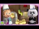 Детский уголок/KidsCorner Маша и Медведь Приятного Аппетита.Новая Интерактивная Книжка по Мультику