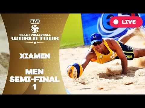 Xiamen - 2018 FIVB Beach Volleyball World Tour - Men Semi Final 1