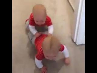 У близнецов явно есть свой язык