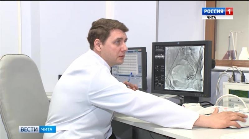 Малотравматичные рентгенохирургические операции успешно освоены в Дорожной клинической больнице