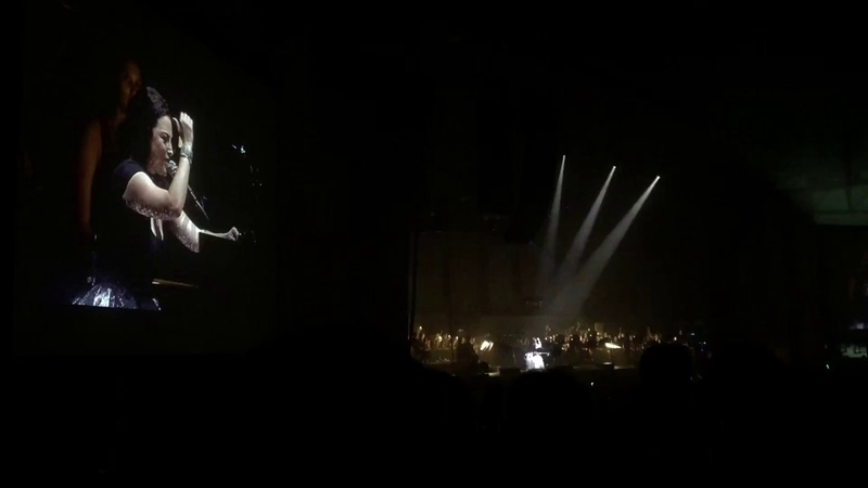 Lithium Bring Me to Life - Evanescence (with LIVE ORCHESTRA) (Live in Raleigh, NC - 72118)