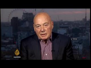 Познер встал и ушёл из прямого эфира «Аль-Джазиры» / aljazeera