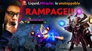 EPIC Invoker God vs LGD Rampage Dota 2 Player Perspective
