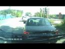 Бешеная таксистка. Челябинск.