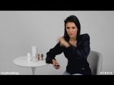 Nina Dobrev's Beauty Essentials Just Five Things Byrdie (via YouTube)