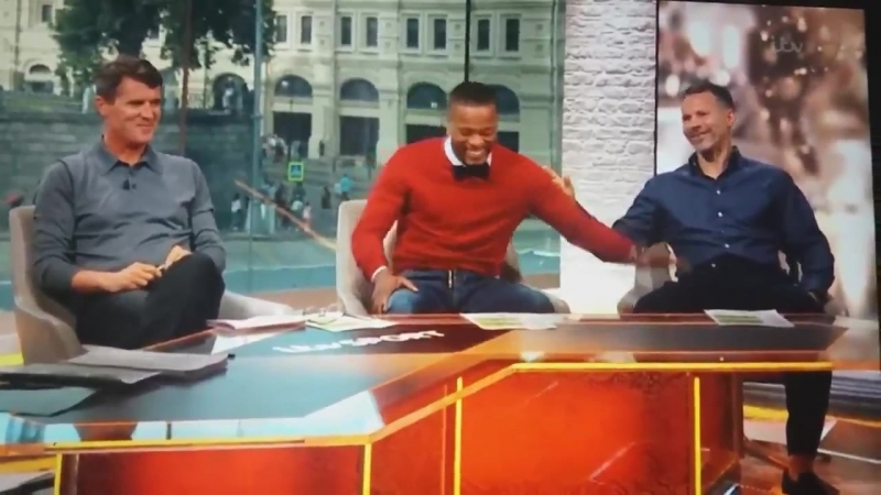Ryan Giggs burns Patrice Evra