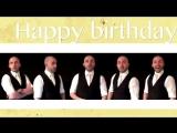 Happy birthday (NSYNC) - A cappella
