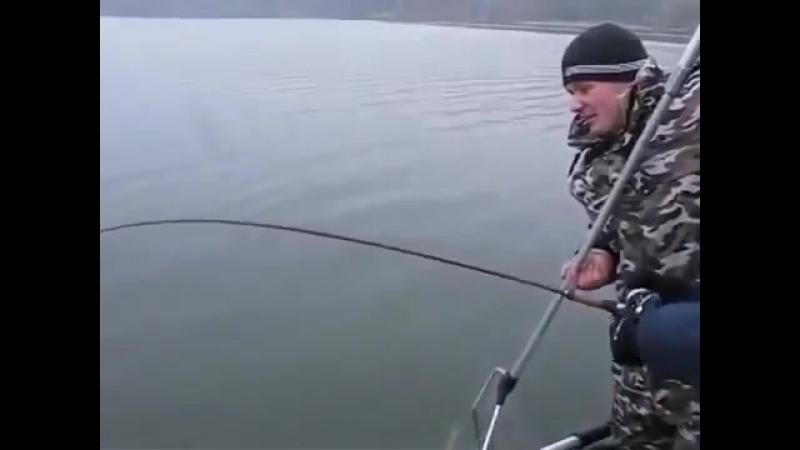Вот оно рыбацкое счастье