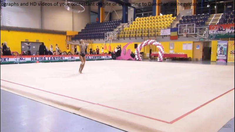 Рената Жолдинова обруч Gracia Fair Cup Budapest Hungary 16 18 02 2018
