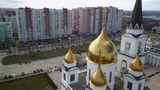 Samara Cathedral by drone.