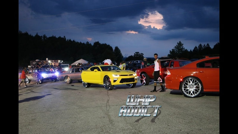 King Of The South Car Show, Custom Cars, Burnouts, Swerve Action