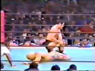 Antonio Inoki vs Jesse Ventura