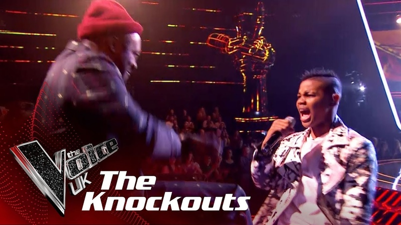 Donel Mangena Performs 'Finesse': The Knockouts | The Voice UK 2018