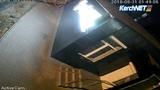 В Керчи вандалы испортили фасад медицинской лаборатории