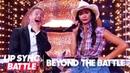 Derek Hough Nicole Scherzinger Go Beyond the Battle | Lip Sync Battle