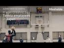 Toyota создали робота-баскетболиста CUE