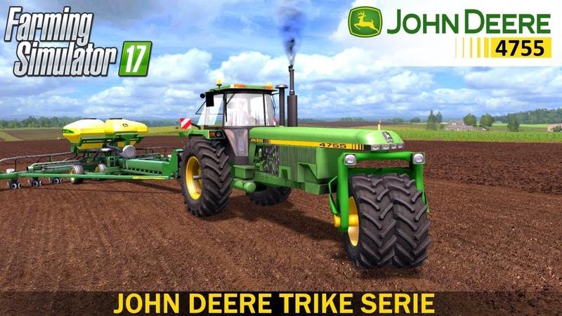 Farming Simulator 17 JOHN DEERE TRIKE SERIE TRACTOR