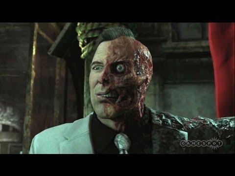 Batman Arkham City - Two-Face Judgment Cut Scene (PS3)