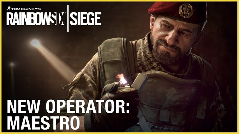 Rainbow Six Siege: Operation Para Bellum - Maestro