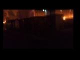 Сгорел рабочий вагончик