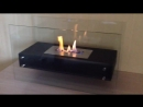 Биокамин Glowing black от ЭкоЛайф видео обзор