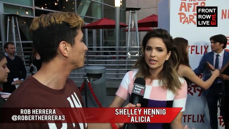 Интервью Шелли Хенниг на показе фильма «После вечеринки»