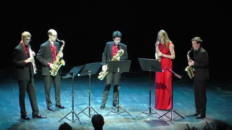 Ad Libitum Saxophone Quartet - Invierno Porteño