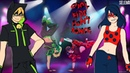 Комикс Леди Баг и Супер Кот || AU Танцуй! (ПОЛНОСТЬЮ)