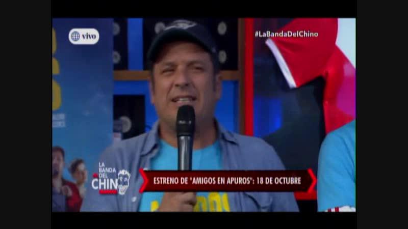 El Chino molesta a Fiorella Mendez de sus caracteristicas
