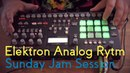 Elektron Analog Rytm - Deep Sunday Jam Session | Deep House | Ambient | Chillout