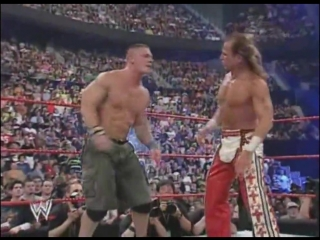(WWE Mania) Backlash 2007 - John Cena vs Shawn Michaels vs Edge vs Randy Orton (WWE Championship)