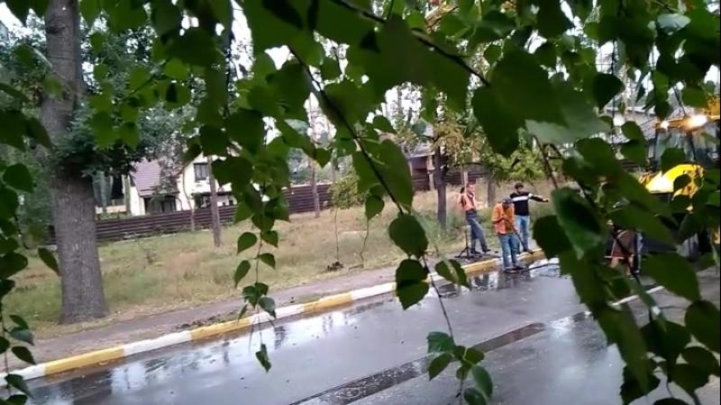 Дощ ні не чув 😂 Буча