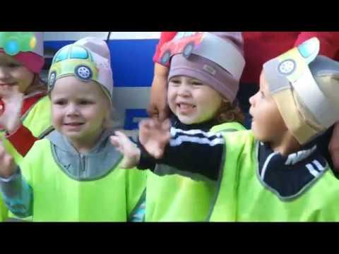 Воспитанники детских садов призвали водителей быть внимательными к маленьким пешеходам